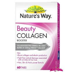 Natures Way Beauty Collagen 60 Tabs - Viên Uống bổ sung Collagen giá sỉ