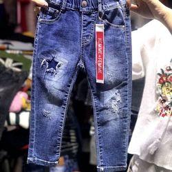 quần jeans bé trai có sẵn đại - QBT008-8135 giá sỉ
