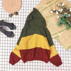 Áo len sọc có nón về thêm giá sỉ, giá bán buôn