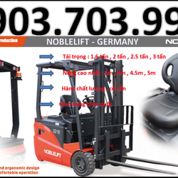 Xe nâng điện ngồi lái Noblelift 1600Kg nâng cao 3m Mới 100 giá tốt giá sỉ