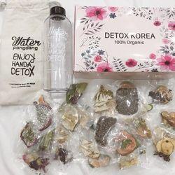Bộ Detox giảm cân hoa quả sấy khô TẶNG KÈM bình 600ML giá sỉ