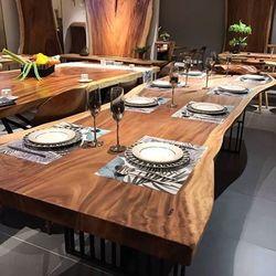 Mặt bàn gỗ nguyên khối tự nhiên dày giá rẻ giá sỉ