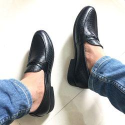 Giày nam da bò thật JMTT-10 giá sỉ