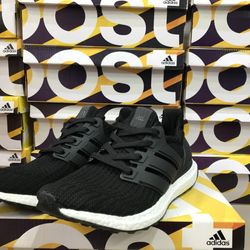 Giày thể thao Ultra Boost super đen giá sỉ
