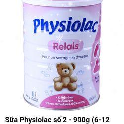 Sữa bột Physioalac dành cho trẻ từ 6 đến 12 tháng giá sỉ