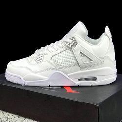 Giày thể thao jordan4 trắng giá sỉ
