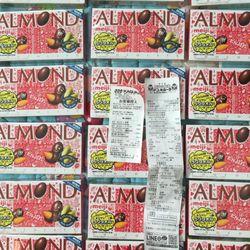 Chocolate Almond Meiji hộp 21 viên