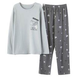 Đồ bộ mặc nhà Nam thiết kế 2 gam màu độc đáo 224 giá sỉ, giá bán buôn