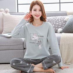 Đồ bộ mặc nhà nữ thiết kế 2 gam màu độc đáo 224