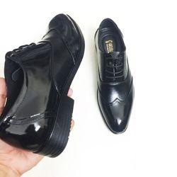 Giày tây nam da bò thật cán bóng giá sỉ