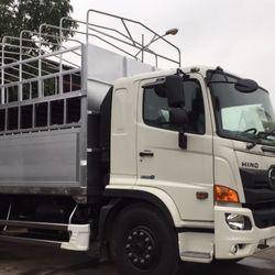 Xe tải chơ xe máy Hino thùng siêu dài giá sỉ