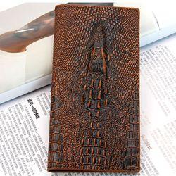 Ví cầm tay hình cá sấu cực kỳ đẳng cấp 803 - 98803 giá sỉ, giá bán buôn