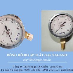 Đồng hồ đo áp suất gas Nagano Nhật giá sỉ