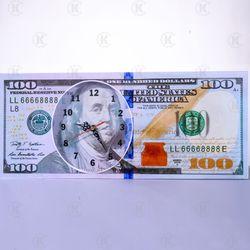 ĐỒNG HỒ TREO TƯỜNG 100 USD giá sỉ