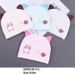 Mũ kẻ cá mèo M203 giá sỉ