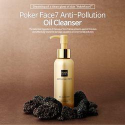 Dầu tẩy trang poker face 7 anti pollution oil cleanser 100ml giá sỉ, giá bán buôn
