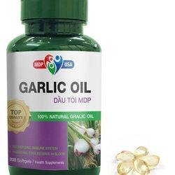 Garlic Oil - Dầu Tỏi MDP - Tăng cường đề kháng kiểm át mỡmáu