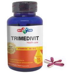 TRIMEDIVIT - SOFTGELS- Bổ sung vitamin nhóm B vitamin B1 B6 B12 giá sỉ