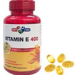 Vitamin E 400 - Vitamin E tổng hợphỗ trợ cho da và tóc