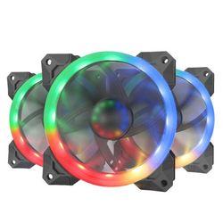Fan trang trí PC Redragon GC-F008 LED RGB bộ 3 fan giá sỉ