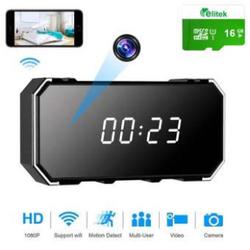Camera Đồng Hồ Điện Tử Hỗ Trợ Wifi HD Thẻ Nhớ 16GB giá sỉ