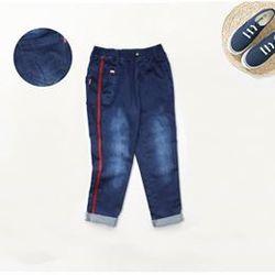 Quần jeans dài bé trai viền sọc đỏ s9-13 giá sỉ