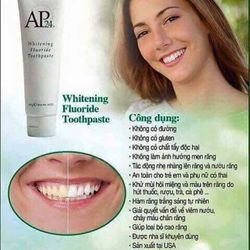 Kem đánh trắng răng AP24 Nuskin