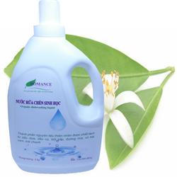 Nước rửa chén sinh học ROMANCE 3kg - Nguyên liệu có nguồn gốc từ thực vật giá sỉ