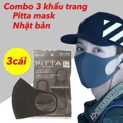 Khẩu trang pitta mask 1 gói 3 cái giá sỉ