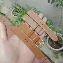 dây đồng hồ thủ công da bò giá sỉ