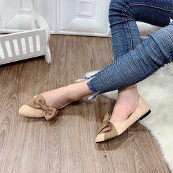 giày bup bê nơ vải xinh giá sỉ, giá bán buôn