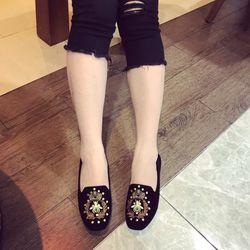 giày bup bê in hình ong họa tiết giá sỉ, giá bán buôn