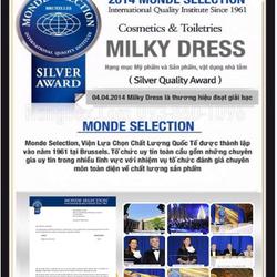 Kem đặc trị chống lão hóa xóa nếp nhăn Milky Dress Dynasty Lucent Cream 50ml giá sỉ, giá bán buôn