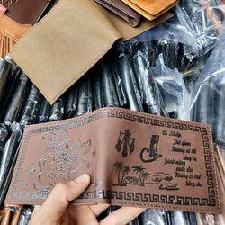 Xưởng bóp da ví da giá rẻ nhất g giá sỉ