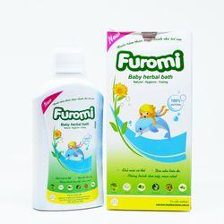 Nước tắm thảo dược dành cho trẻ em Furomi x 100ml ngăn ngừa rôm sảy giá sỉ