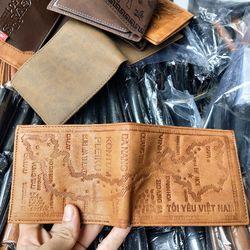 Xưởng bóp da ví da giá rẻ nhất f giá sỉ