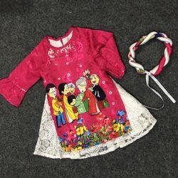 áo dài bé gái hàng Việt giá sỉ