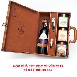 Hộp rượu tết doanh nhân giá sỉ