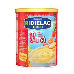Bột ăn dặm RIDIELAC GOLD Bò rau củ - Hộp thiếc 350g giá sỉ