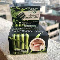 Kem làm trắng răng Thái Lan Herbal Charcoal Powder giá sỉ