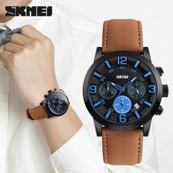 Đồng hồ 6 kim chạy Skmei 9147 giá sỉ