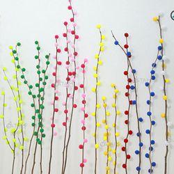 Cành hoa nụ tầm xuân giả số 09 20 cành