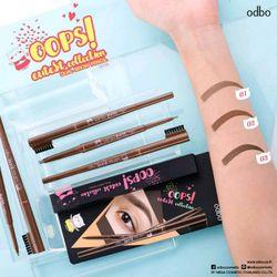 chì kẻ mày Odbo Cutest Collection Dual Brow Pencil giá sỉ