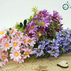 Cành hoa giả trang trí Cúc bông to số 68