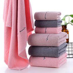 Khăn tắm dày 34x75siêu thấm chất liệu 100 cotton 100g 122 giá sỉ