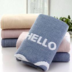 Khăn tắm dày 34x76siêu thấm chất liệu 100 cotton 100g 128 giá sỉ