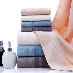 Khăn tắm dày 34x75siêu thấm chất liệu 100 cotton 100g 125 giá sỉ