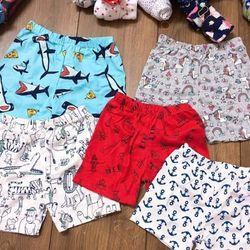 quần đùi chục vải bối xuất nhật cho bé giá sỉ