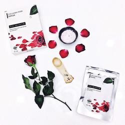 Bột đắp mặt nạ Collagen Hoa Hồng CC WHITE giá sỉ, giá bán buôn