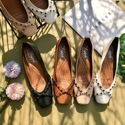 Giày búp bê mũi vuông êm mềm giá sỉ